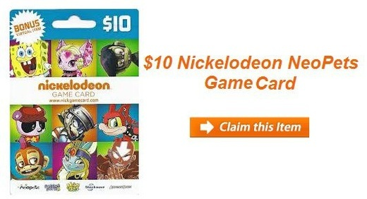 Neopets coupons
