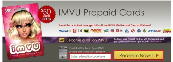 IMVU Promo Codes December IMVU Promo Codes in December are updated and verified. Today's top IMVU Promo Code: Get Credits on Your Registration Using Code.