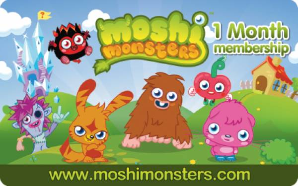 moshi-monsters-membership