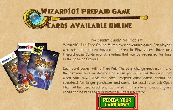 ... To Get Free... Wizard101 Sign Up Free